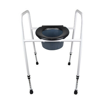 3 In 1 Raised Toilet Seat, Raised Toilet Seat, Over Toilet Frame, Shower Chair
