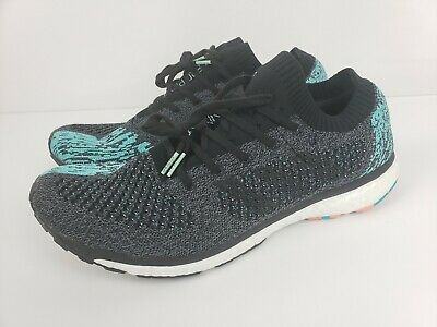 f389223b8 Adidas Men s Adizero Prime Boost Running Shoes Black Blue Size 11.5 BB6564