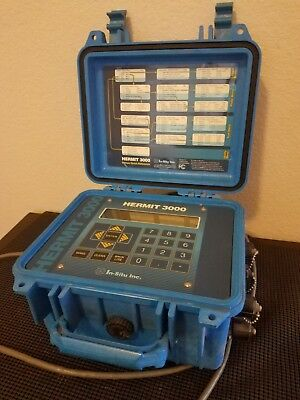 In-Situ hermit 3000 Environmental Data Logger Surplus Pull, NICE!