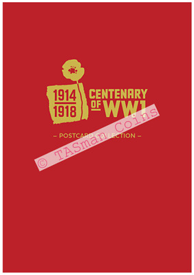 Postcard Collection Centenary of WW1 1914-18 Australia 2018 Limited Edition 200