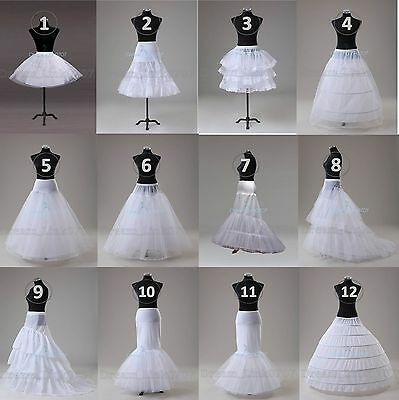 779330cd5ce2 Hot Wedding Prom Crinoline Underskirt Hoop Hoopless Mermaid Fishtail  Crinoline