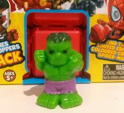 """Marvel Ooshies Series 4 """"ULTIMATE HULK""""-COMMON-+MYSTERY OOSHIE & Character Sheet"""