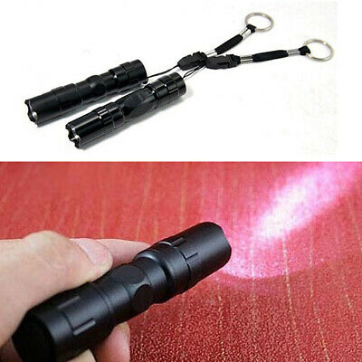 Mini 3W LED Flashlight Medical Pen Light Small Torch Lamp Portable Keychain Hot