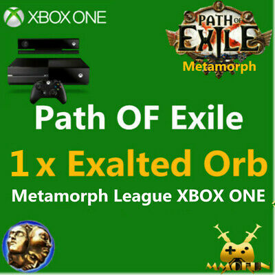 1 x Exalted Orb XBOX One Path Of Exile Metamorph League POE Item NA & EU XBOX 1