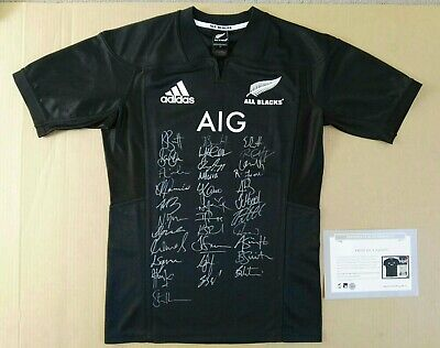 All Blacks Signed Jersey 2017 Team Limited Edition Official Licensed With Coa
