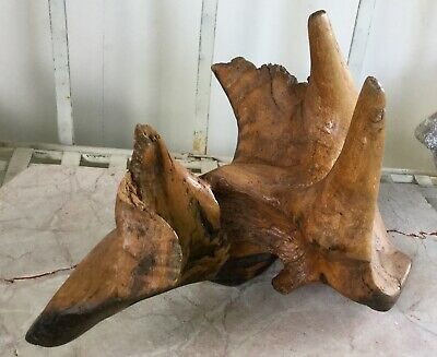 Wood Sculpture Abstract. Very good condition.