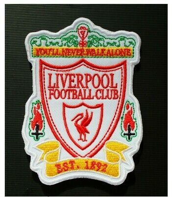 Old Liverpool LFC KOP Champions Football Iron Sew On Embroidered Patch Badge