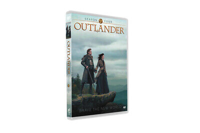 Outlander Season 4 (DVD, 3-Disc Set) Free Shipping