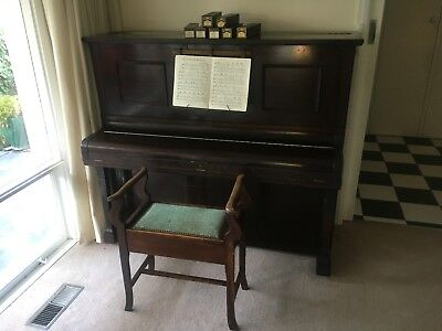Pianola Piano.  Stroud brand.  Reasonable condition