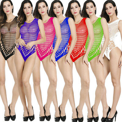Sexy Women's Lace Lingerie Chemise Teddy Babydoll Body stocking Bodysuit