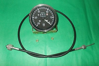 Massey Ferguson Tractor Tachometer + Tacho Cable MF 165 175 178 180, IND 50