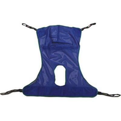 INVACARE 1 EA R115 Reliant Full Body Sling with Commode Opening, Large, CHOP