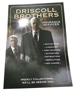 Only Fools and Horses The Driscoll Brothers Insurance Advertising Poster A3