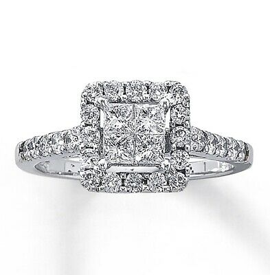 f353de0a7 Kay Jewelers Diamond Engagement Ring 1 ct tw Diamonds 14K White Gold MSRP  $2,699