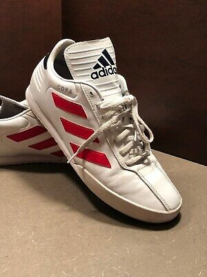 8904982093b Adidas Copa Super White   Red Size 9.5 Indoor Soccer Mens Shoes B37085