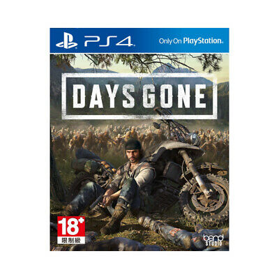Days Gone PlayStation PS4 2019 Chinese English Factory Sealed