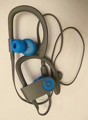 Genuine Beats by Dr. Dre Powerbeats3 Wireless Headphones - Flash Blue - B Grade