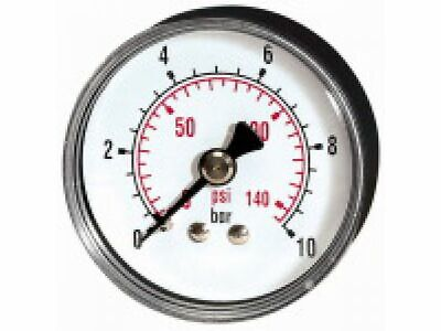 PRESSURE LINE Standardmanometer G 1/4 rücks. ¢ 63 mm 0-2,5 bar   214-DE