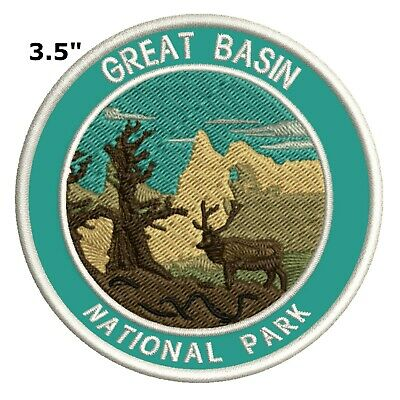 Great Basin National Park Embroidered Patch Iron-On Souvenir Travel Explore