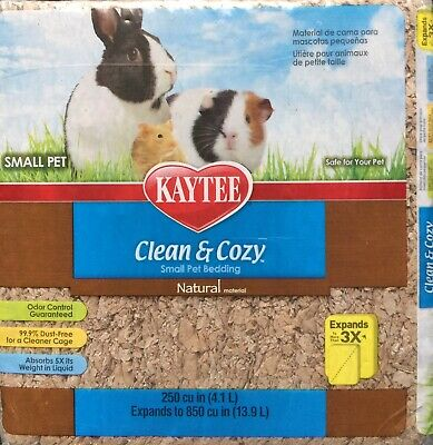 Kaytee Clean And Cozy Natural Super Absorbent  Small Pet Bedding 4.1 L To 13.9L