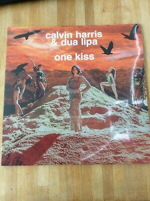 "Calvin Harris Dua Lipa One Kiss NEW 12"" VINYL SINGLE Picture Disc 0190758624211"