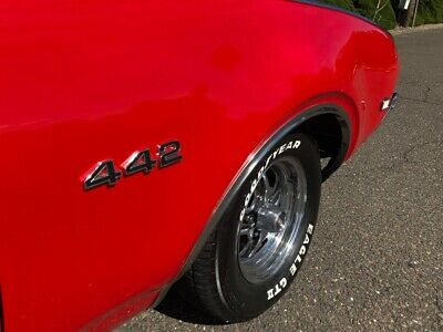 1968 442 -- 1968 Old 442 Convertible Red 400Ci Match # 2 Owner Only 148 Made