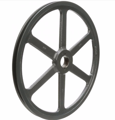 """Browning Fixed Pitch Sheave, 1-Groove Pulley, 15.75"""", 4L, A, 5L, B Belts, Bk160H"""