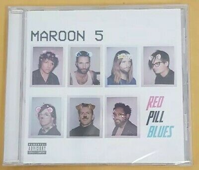 MAROON 5 RED PILL BLUES CD New Sealed freepost