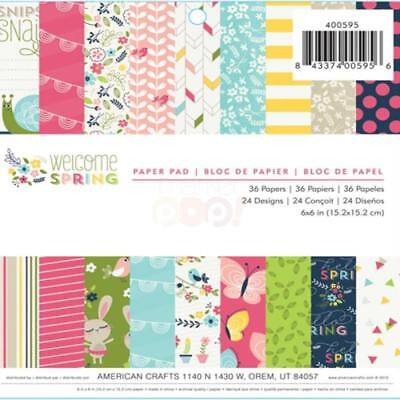 American Crafts Starshine Collection 6 X 6 Paper Pad