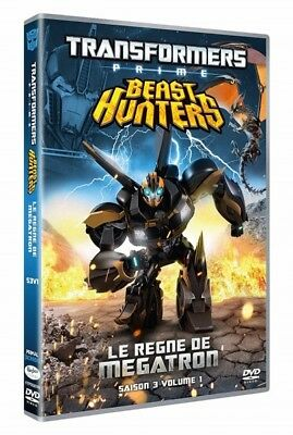 Transformers prime season 3 no. 1 The reign of megatron DVD NEW BLISTER PACK