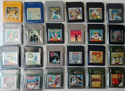 Juegos Game Boy, Gameboy Color, Gb, Gbc, Pokemon, Game Watch, Envio Gratis