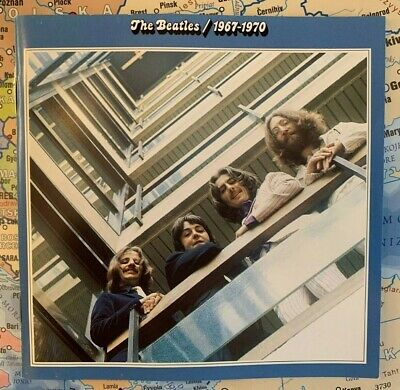 The Beatles Blue Album 1967 to 1970 Double CD