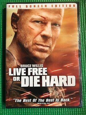 Live Free or Die Hard (Full Screen Edition) [DVD] NEW!