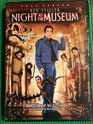 Night at the Museum DVD 2007 Full Screen Edition DVD Sealed