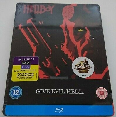 HELLBOY : STEELBOOK BLU-RAY ZAVVI NEUF [Collector - G2 - SOLD OUT]