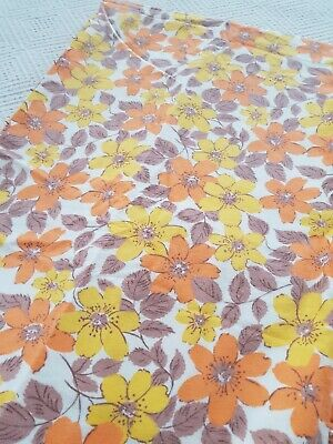 Bedding Bed Linens & Sets Vintage Retro Horrockses King Size Flat Sheet Vw Camping 60s 70s 2 Avilable