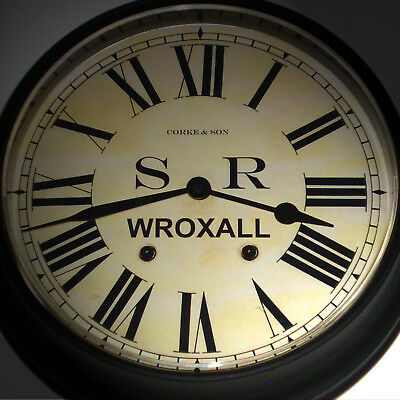 Southern Railway Style SR Waiting Room Clock, Wroxall Station