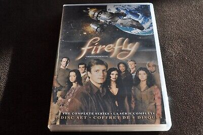 Firefly The Complete Series 4 DVD edition Region 1 NTSC Eng/Fr/Span Audio