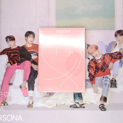 [BTS] MAP OF THE SOUL : PERSONA / Version. 4 Album / New, Sealed