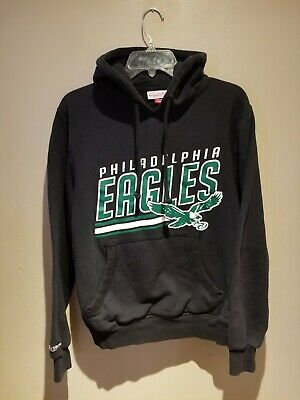 c401be63c3f Mitchell And Ness NFL Philadelphia Eagles Hoodie Sweatshirt Small Kelly  Green