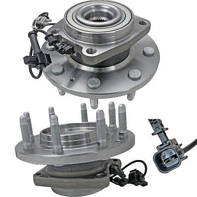 2PCS Front OE Wheel Hub Bearing Assembly Left and Right for Chevy GMC Sierra 4WD