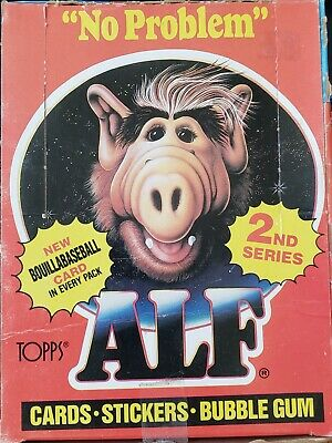 1987 - Topps - Alf - Series 2 - Complete Wax Box - 48-Count Unopened Packs