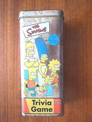 2002 The Simpsons Trivia Game