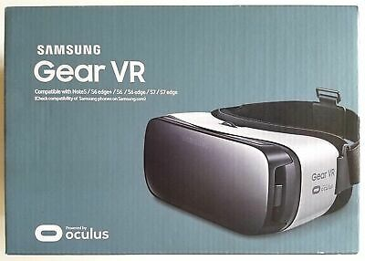Brand New-Samsung Gear VR Oculus SM-R322- works with Note 5, S6, S7 and edge