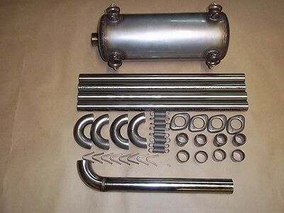 Escape( Exhaust ) Rotax 912 Inox