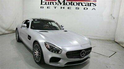 2016 Mercedes-Benz AMG GT AMG GT 2dr Coupe S mercedes benz amg gts gt s silver grey gray used sedan 15 17 18 coupe navigation