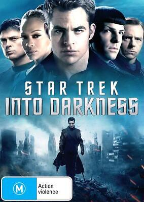 Star Trek - Into Darkness (DVD, 2013), NEW SEALED AUSTRALIAN RELEASE REGION 4