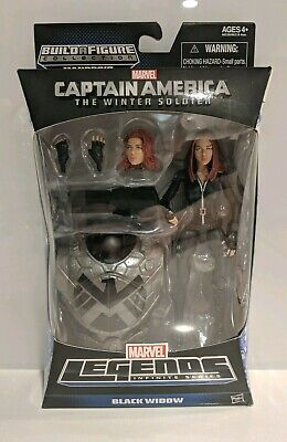 Marvel Legends BLACK WIDOW Winter Soldier Hasbro NEW SEALED Mandroid BAF MCU
