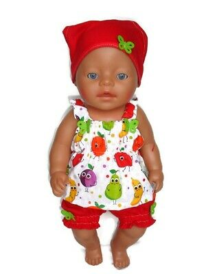 dolls clothes suits 43cm Baby Born doll or similar girls gift outfit girl boy
