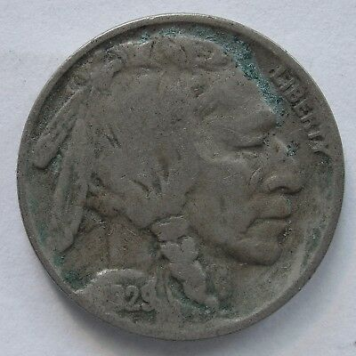 USA 1929 S Buffalo Nickel.VG(LotE11181118)Free Registered Postage